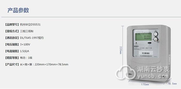 杭州华立DSS531配套远程抄表系统
