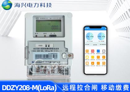 杭州海兴DDZY208-M无线LoRa预付费单相电能表