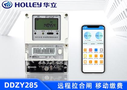 杭州华立DDZY285单相预付费电能表