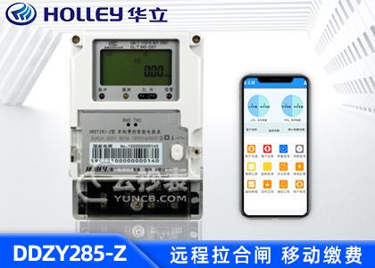杭州华立DDZY285-Z单相载波预付费电能表