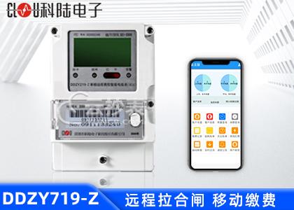 深圳科陆DDZY719-Z载波单相预付费电能表