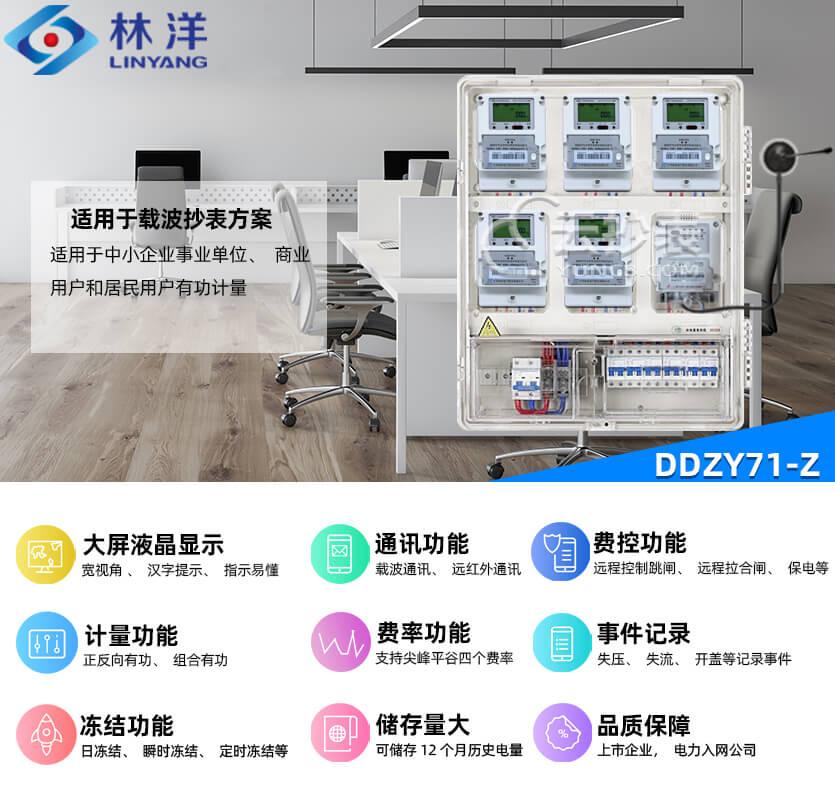 江苏林洋DDZY71-Z单相载波预付费电能表