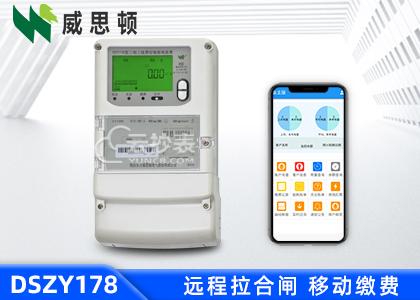 烟台威思顿DSZY178三相智能预付费电能表