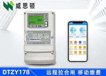 烟台威思顿DTZY178三相智能预付费电能表