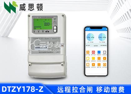 烟台威思顿DTZY178-Z三相载波预付费电能表