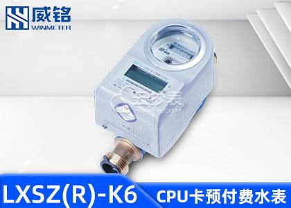 长沙威铭LXSZ(R)-K6射频卡预付费水表支持M-BUS抄表