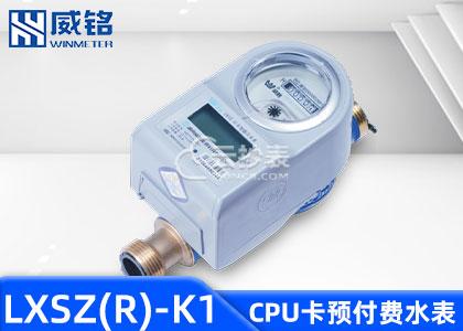 长沙威铭LXSZ(R)-K1型IC卡预付费水表